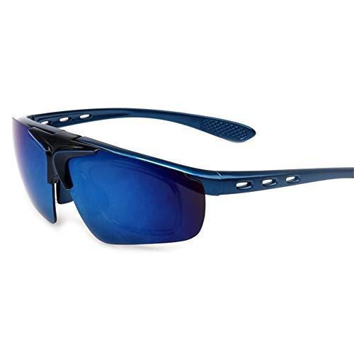 Yiph-Sunglass Sonnenbrillen Mode Sonnenbrillen Sport Parkour Männer und Frauen außerhalb Reiten Brille Sportspiegel (Farbe : 20)