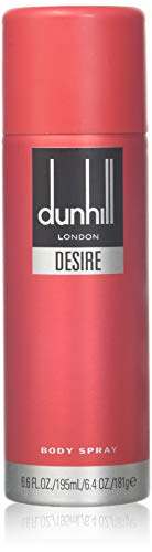 Alfred Dunhill-Body Spray For Men, Desire Red, 6.6Fluid Ounce by - Alfred Dunhill Deodorant Spray