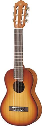 Yamaha GL-1 TBS Guitalele braun sunburst - Perfekter Hybrid aus Gitarre und Ukulele - Kleine 1/8 Reisegitarre aus Holz inkl. Gigbag