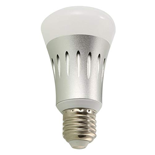 E27 8W LED Smart WiFi Bulb APP-Control Wireless Color Changing Alexa Dot Light Dimmable Light Bulb for Home Hotel