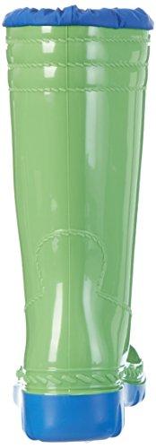 Romika Unisex-Erwachsene Jupiter Langschaft Gummistiefel Grün (lime-blau 646)