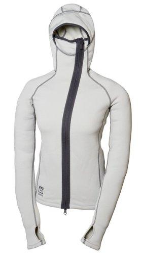 66North Herren Vik Hooded Sweater Soft Grey