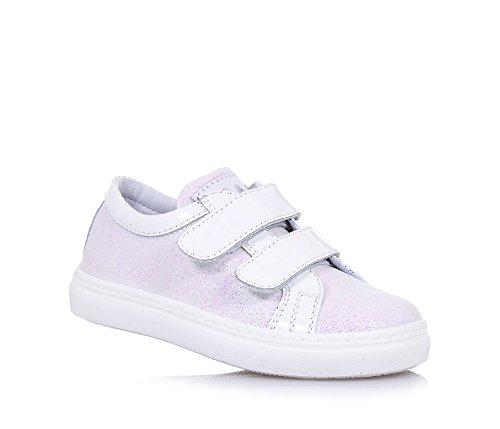 CIAO BIMBI - Scarpa bianca e rosa, in pelle glitterata, curata in ogni dettaglio ed in grado di coniugare stile e qualità, Bambina, Ragazza-29