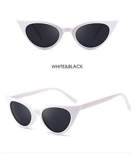 Wang-RX Mode Sonnenbrillen Frauen Vintage Gradient Sonnenbrille Shades Clout Goggles Uv400