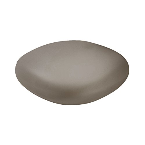 Slide Chubby Low Pouf - Table Basse Gris Argile