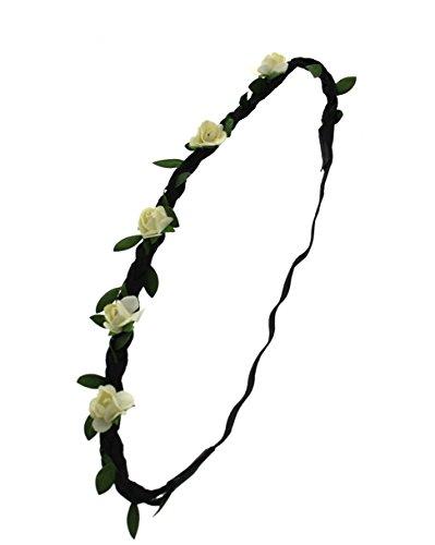 ZAC de Alter Ego® Rose Fleur Tête Élastique pour les mariages, les festivals, Fancy Dress