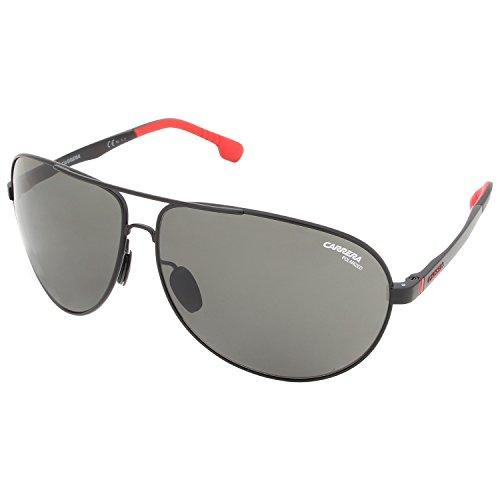 Carrera Unisex-Erwachsene 8023/S UC Sonnenbrille, Schwarz (Matt Black), 65