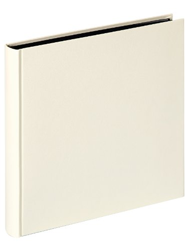 Walther, Charm, Album Fotografico, FA-501-W, 30x30 cm, 50 Pagine Nere, Bianco