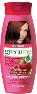 Aroma Greenline For Colored Hair With Pomegranate Uv Filter Shampoo 250 ML