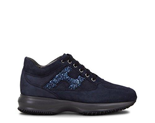 Hogan Baskets Pour Femme - Bleu - Bleu, 37.5 EU