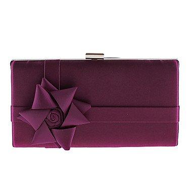 WZW Donna Poliestere / Others Formale / Casual / Serata/evento / Matrimonio / Ufficio e lavoro Borsa da sera . almond purple