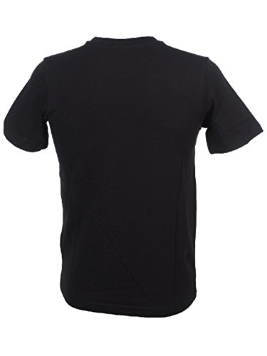 Kappa Herren T-Shirt Schwarz