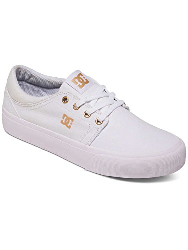 DC Shoes Trase Tx, Baskets mode femme White/Gum