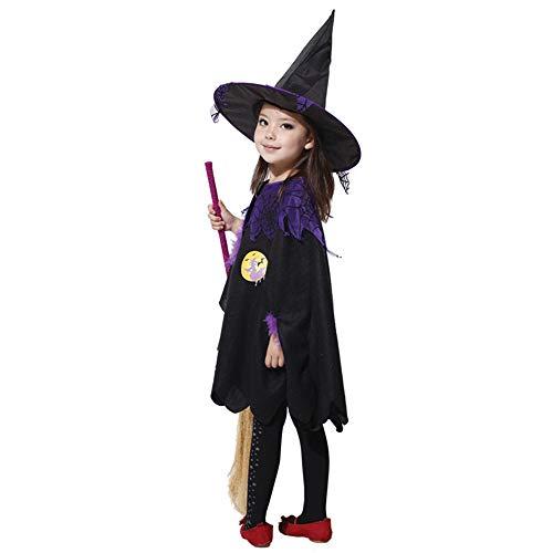 HQQ Halloween Bühne Requisiten Black Flying Witches Hexe Show Set (größe : L)