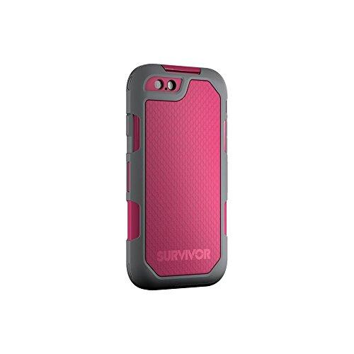 Griffin Survivor Summit Robuste Schutzhülle Case für Apple iPhone 6/6s - Pink/Grau