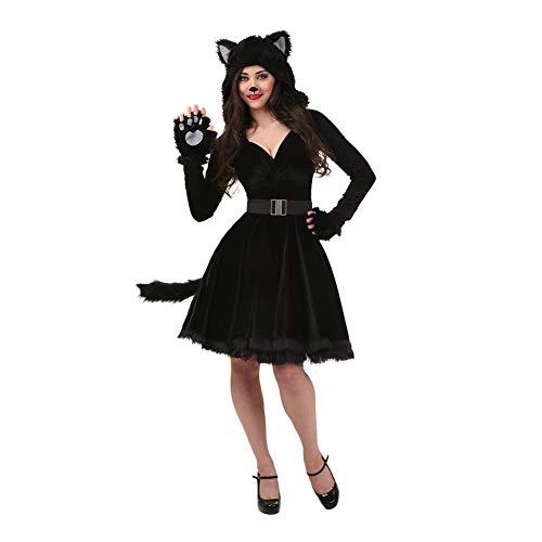 Einfach Katze Schwanz Kostüm - YTWF Kostüme für Erwachsene Katze Kleid Kleid Schwanz Halloween Cosplay Katze Kleidung,XL