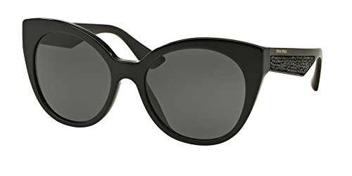 Miu Miu 0MU 07RSA-1AB1A1-55 Sunglasses