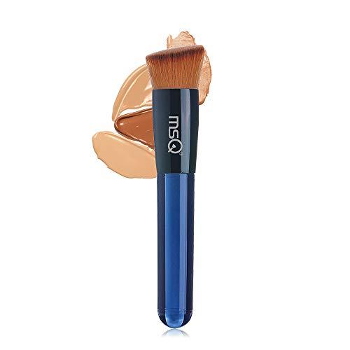 MSQ Makeup Pinsel Kabuki Foundation Brush Schrägkopf Makeup Pinsel Kosmetikpinsel Puderpuder dichtes synthetisches Premium Pinselhaar tolle Geschenkidee