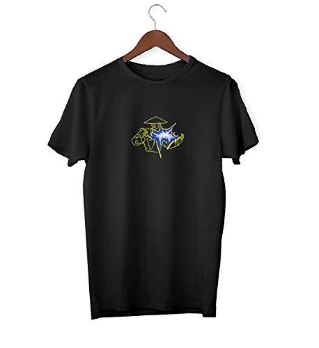 Fight Battle_KK017553 Shirt T-Shirt für Männer Herren Tshirt for Men Gift for Him Present Birthday Christmas - Men's - Medium - White ()