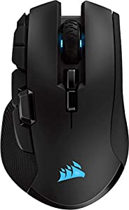 Corsair Ironclaw Wireless RGB Ricaricabile Mouse Gaming Ottico con Tecnologia Slipstream, Wireless, 18000 DPI