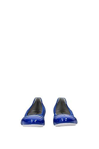 HXW1440712BXXU615 Hogan Ballerine Femme Chamois Bleu Bleu