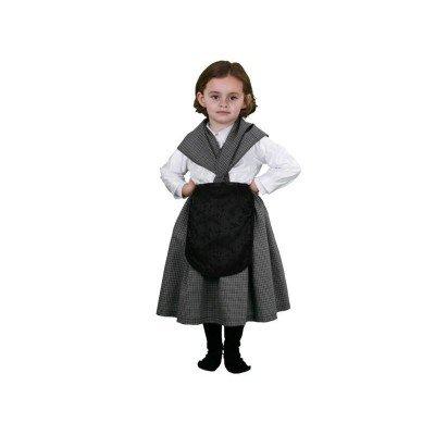 Imagen de disfraz de castañera infantil  talla  10 12 años