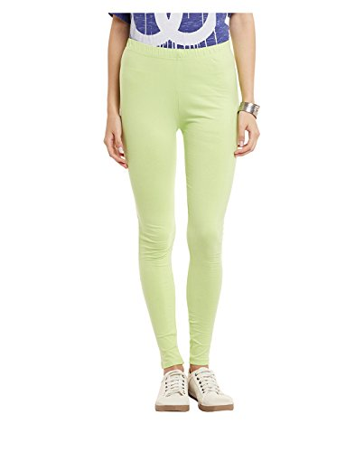 Yepme Women's Green Cotton Leggings - YPWLGGN5165_XL  available at amazon for Rs.179