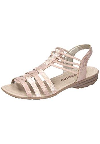 Cinturino multi rosa Colore R3630 Caviglia Indietro Sandali Donna Rosa Alla Rosa vnwEaZgq