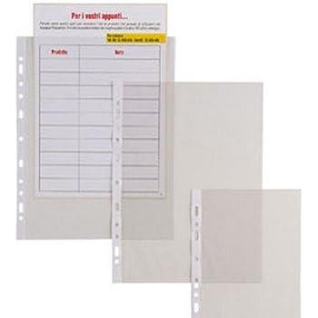 Busta premium per cataloghi trasparente apertura lato superiore f.to A3 orizzontale confezione da 50 pezzi DURABLE 267019