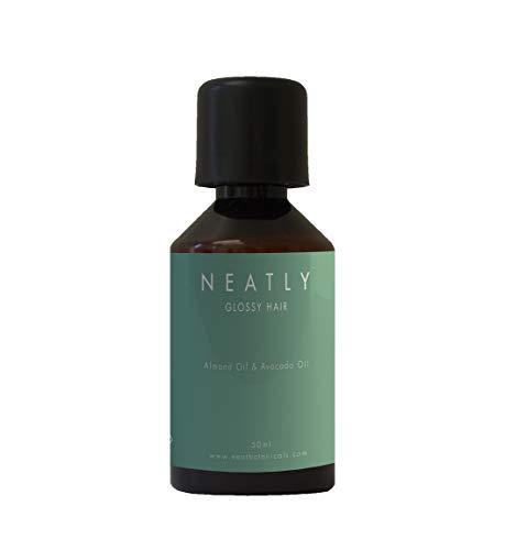 Haar-Öl gegen trockene Haare von Neatly | Macht sprödes Haar geschmeidig und ist als Hitzeschutz verwendbar | Haarkur Alternative mit Argan-Öl