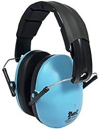 Banz Ear - Auriculares de Caza, Color Azul, Talla 2-10 Years