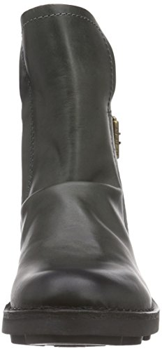 FLY London NING, Bottes Motardes femme Gris (diesel 013)