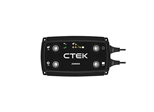 CTEK - COUPLEUR/SEPARATEUR CTEK D250SA - 2 ENTREES 12 VOLTS / 20 A