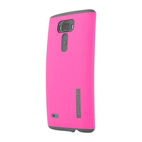 Pkg Fall (Incipio LG G Flex2Fall, [stoßdämpfendem] [Hartschale] DualPro Fall für LG G flex2-pink/grau)