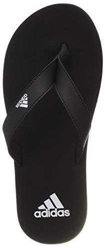 adidas Eezay Flip Flop, Scarpe da Spiaggia e Piscina Uomo, Nero Ftwr White/Core Black, 43 EU
