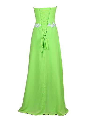 Dresstells, Robe de soirée de mariage/cérémonie/demoiselle d'honneur forme Princesse bustier en coeur pailletée Menthe