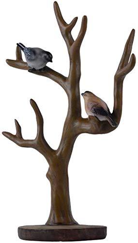 ZTMN Adornos Aves Resina Escultura Decoración Creativo