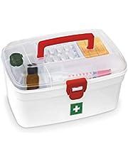 Milton Plastic Medical Box With Handle