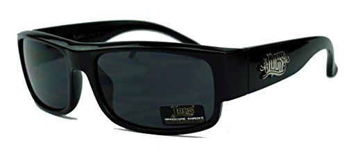 OG Gangsta Herren Sonnenbrille West Coast 90er Jahre Old School Locs schwarz