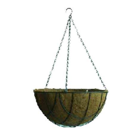 Pot suspendu Hanging Basket vert 35 CM