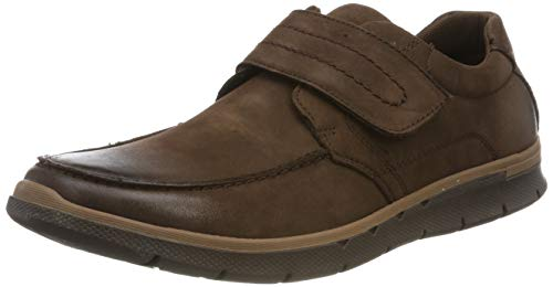 Hush Puppies Duke, Mocasines Hombre, Brown, 41 EU