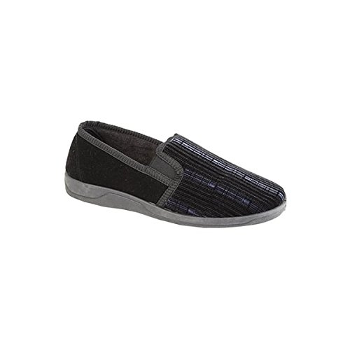 Sleepers , Chaussons pour homme Noir - noir