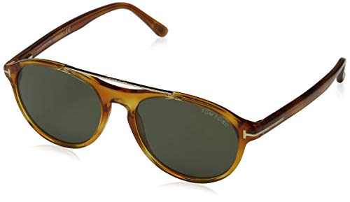 Tom Ford Herren FT0556 53N 53 Sonnenbrille, Braun,