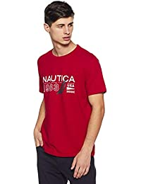 Nautica Men's Solid Slim Fit T-Shirt