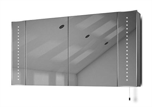Spiegelschrank mit Zugschnur - Batterie Spiegelschrank