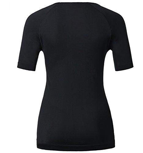 Odlo Damen Unterhemd Shirt Short Sleeve Crew Neck Evolution X-Light black