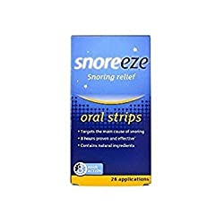 Snoreeze - Oral Strips - 28s