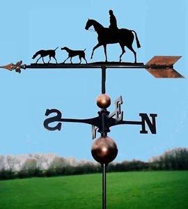 OriginalForgery Pferd & Hounds Wetterfahne handgefertigt sehr hohe Qualität