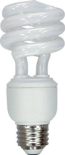 GE LIGHTING 25183Energy Smart Spirale CFL 15Watt (Ersatz) Gluehbirne 950-lumen T3Spirale Glühlampe mit Medium ER Boden, 10 -
