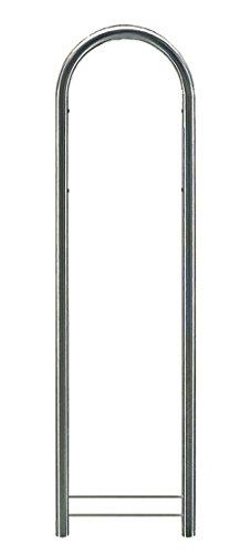 Bobi Round Edelstahl (V2A) Briefkastenständer